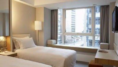 desain kamar hotel minimalis elegan indah dan mewah