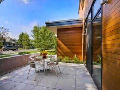 desain teras rumah minimalis sederhana | detiklife