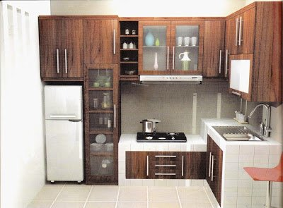 desain dapur minimalis modern detiklife