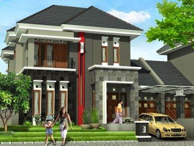 desain denah rumah minimalis 2 lantai tipe 60   detiklife