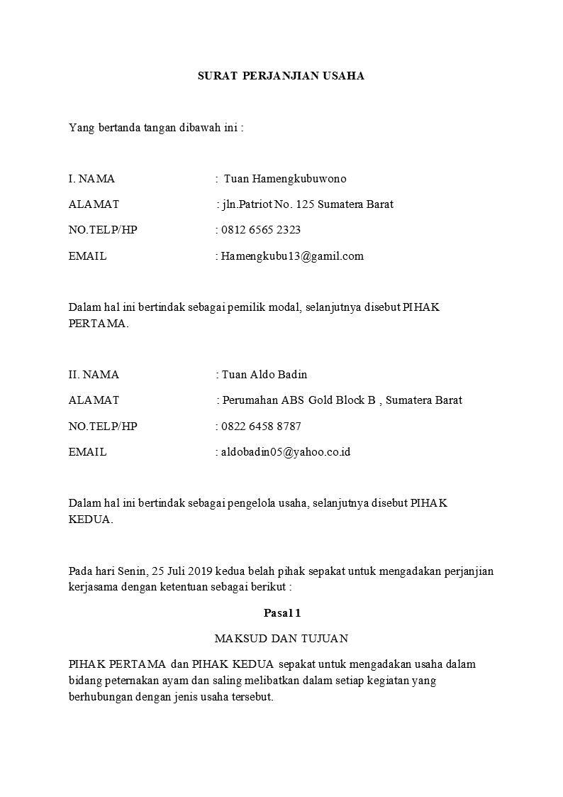 Surat Perjanjian Detiklife Page 4 Of 20